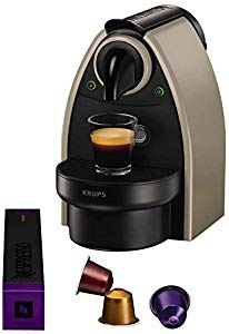 krups nespresso yy1540fd essenza machines caf automatique taupe machine nespresso de r f rence. Black Bedroom Furniture Sets. Home Design Ideas